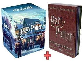 Livro-coleção Harry Potter (7 Volumes) +guia Cinematografico