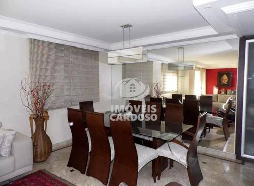 Imagem 1 de 13 de Apartamento Com 3 Dormitórios À Venda, 190 M² Por R$ 2.350.000 - Perdizes - São Paulo/sp - Ap0585