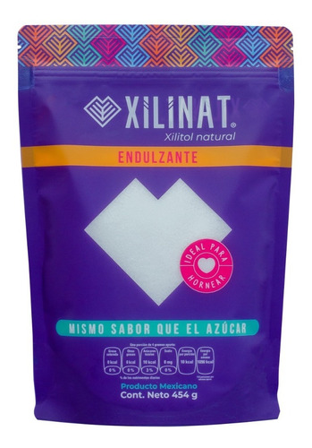 Endulzante Xilinat, Xilitol, Xylitol 454 G
