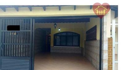 Casa Térrea No Balneário Flórida Na Praia Grande - 150m Da Praia, Ótima Localização!!! - Codigo: Ca0452 - Ca0452