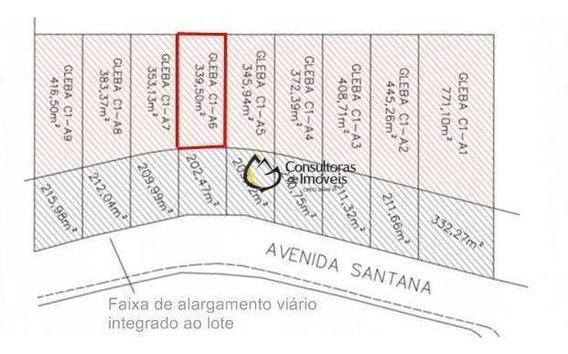 Terreno À Venda, 339 M² Por R$ 339.500 - Parque Hortolândia - Hortolândia/sp - Te0324