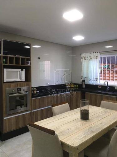 Imagem 1 de 30 de Sobrado Com 3 Dormitórios À Venda, 240 M² Por R$ 742.000,00 - Vila Camilópolis - Santo André/sp - So4126