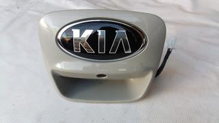 Chapa Con Cámara De Reversa Kia Rio Hatchback