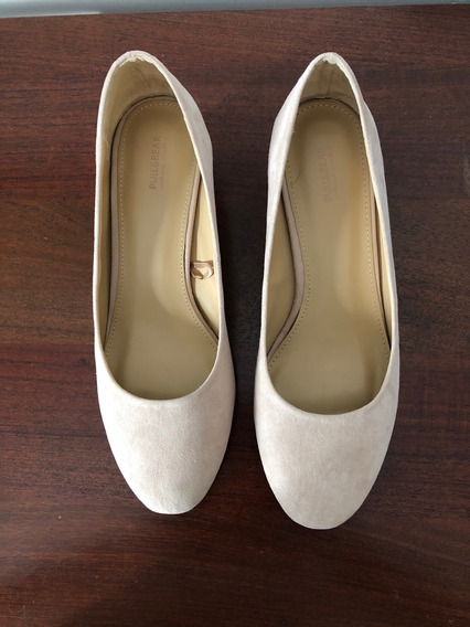 Zapatos Color Nude Talle 38