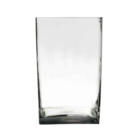 Florero Rectangular Vidrio Cristal Prinz