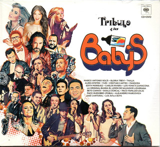 Tributo A Los Baby`s/ Cristian Thalía Yuri Solís Dld Cd+ Dvd