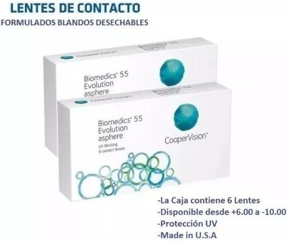 Lentes De Contacto Biomedics Formulados Blandos Coopervision