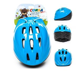 Capacete Infantil Corsa Kids Baby Azul Ciclismo