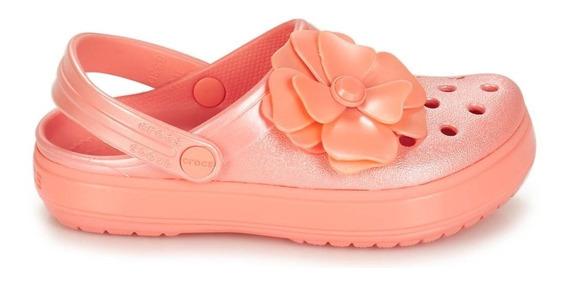 Crocs Plataforma Vivid Blooms Rosa