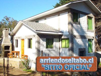 Cabaña Arriendo En El Tabo - Casa Arriendo El Tabo