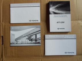 Manual Do Proprietário Kit Toyota Etios Original