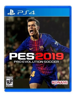 Pes 2019 Ps4 Juego Playstation 4 Original Fisico Bsa Comers