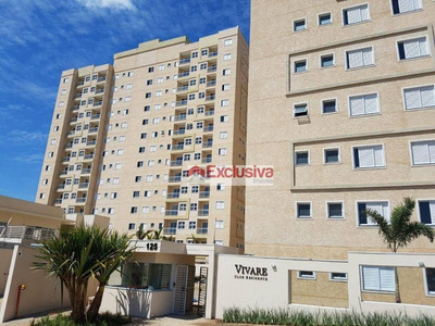 Apartamento Com 2 Dormitórios Para Alugar, 56 M² Por R$ 1.600/mês - Parque Dos Servidores - Paulínia/sp - Ap0586