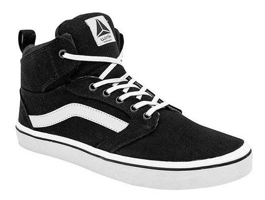 Sneaker Deportivo Niño 2wink Negro Sint Bota J11119 Udt