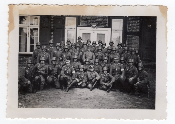 Foto Segunda Guerra Mundial - Soldados Alemanes - Original