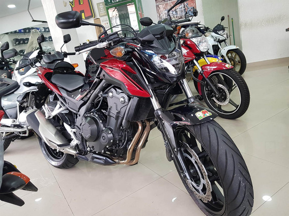 Honda Cb 500f Abs 2019 Preta 4700 Km