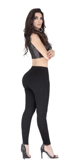 Pantalon Ciclon Jeans Odeth Leggins Mezclilla Push Up