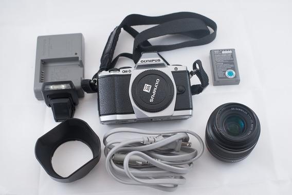 Camara Olympus Om-d E-m5 16mp Con Lente Leica 25mm