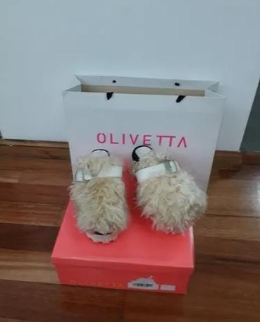 Zuecos Osbourne Olivetta Blancos