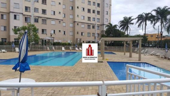 Apartamento Com 2 Dormitórios À Venda, 45 M² Por R$ 211.000,00 - Ponte Grande - Guarulhos/sp - Ap1190