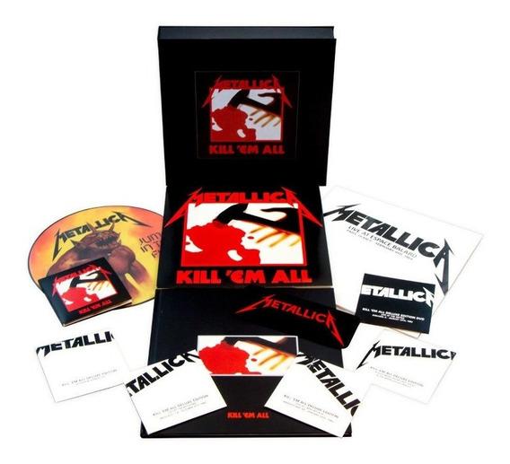 Metallica - Kill Em All Super Deluxe [cd+lp+dvd] Box Lacrad