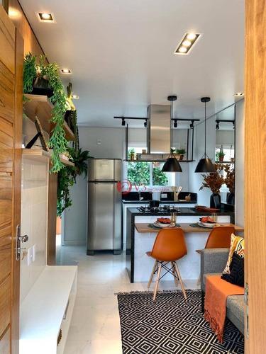 Imagem 1 de 5 de Apartamento Com 2 Dormitórios À Venda, 107 M² Por R$ 617.000,00 - Tatuapé - São Paulo/sp - Ap0188