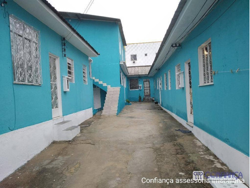 Casa Com 1 Dormitório Para Alugar, 45 M² Por R$ 550,00/mês - Campo Grande - Rio De Janeiro/rj - Ca1622