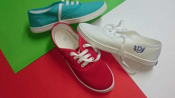 Zapatillas De Lona Todos Los Colores