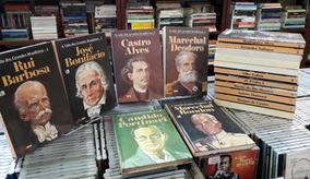 Colecao A Vida Dos Grandes Brasileiros Varios Vols Capa Dura