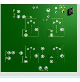 Projeto Placa Seletora Para Inversor Of-grid 4 Reles