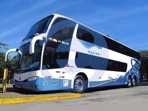 Imagem 1 de 12 de Onibus Marcopolo Paradiso 1800 Dd Scania K 420 6x2 2010/2010
