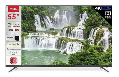 Imagen 1 de 2 de Tv Tcl 55 Pulgadas 4k Ultra Hd Smart Tv Led 55a527