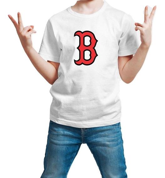Playera Boston Red Sox Medias Rojas Niño 1 Pieza