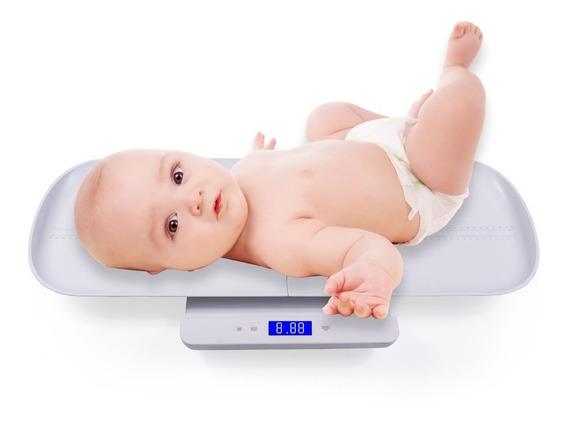 Multifunción Báscula Digital Para Bebés Con Peso Y Altura