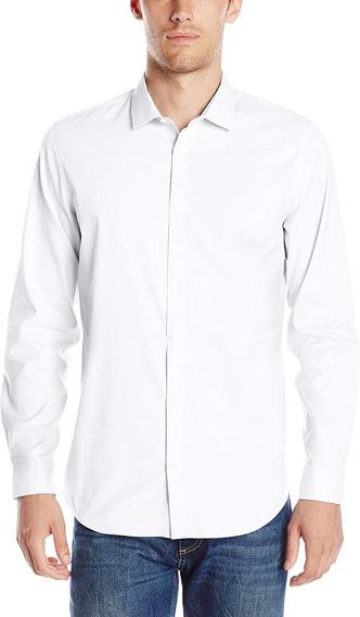Camisa De Vestir Calvin Klein Para Hombre Talla M