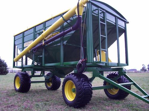 Acoplado Tolva Para Semillas Y Fertilizantes De 12 Tt (15 Mt