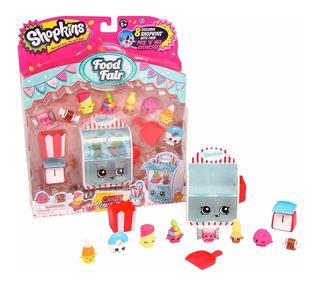 8 Shopkins Pack Caramelos! + Display De Golosinas - Geniales