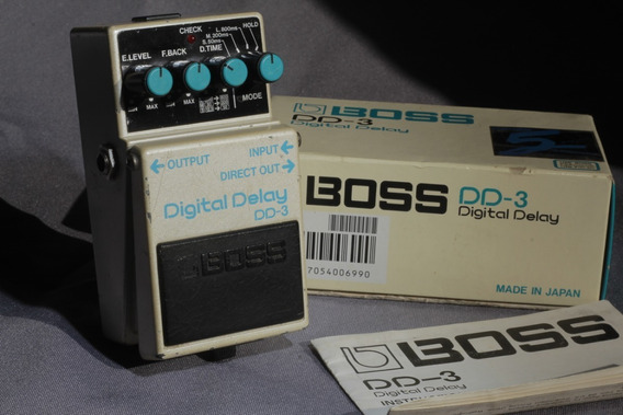 Pedal Boss Dd3 Digital Delay Japan