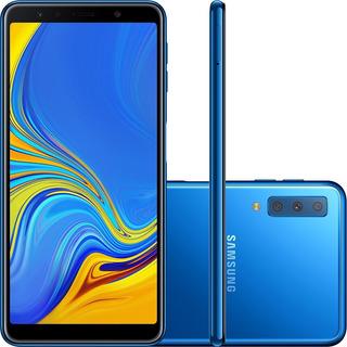 Smartphone Samsung Galaxy A7 4gb Ram 128gb Preto Vitrine