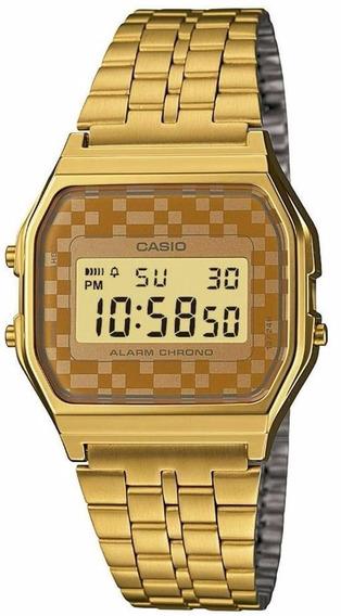 Relógio Casio Vintage Unissex A159wgea-9adf Nota E Garantia