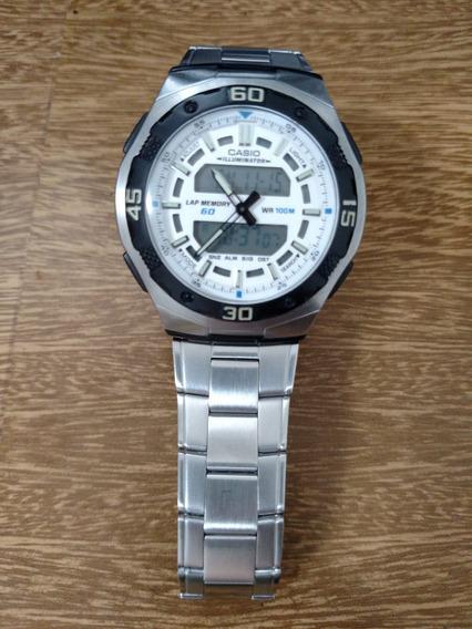 Relógio Casio Masculino Aq-164wd-7avdf