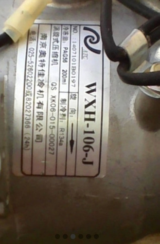 Compresor Aire Acondicionado Chery Grand Tiger 4x2.