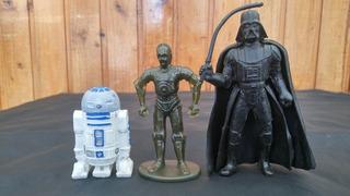 Lote X3 Figuras Star Wars Burger King Los Germanes
