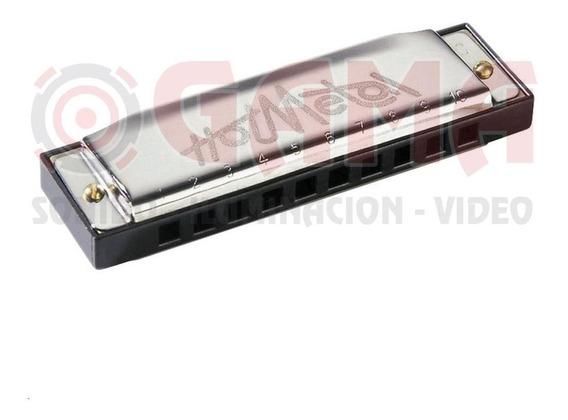 Armonica Hohner Hotmetal 572-c, 10x2 Voces, Eb Do 15001908