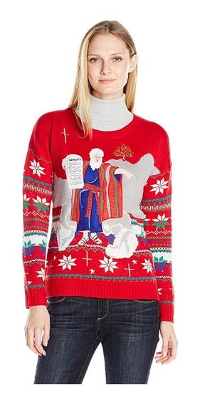 Christmas Ugly Sweater Dama Navidad Sueter Talla Xl