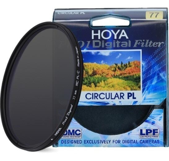 Filtro Polarizador Cpl Hoya Pro1 Digital 77mm Made In Japan