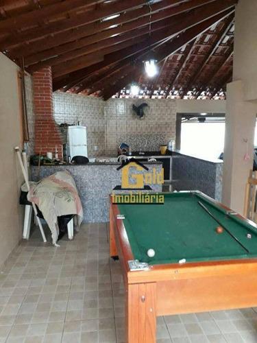 Casa Com 2 Dormitórios À Venda, 200 M² Por R$ 280.000 - Campos Elíseos - Ribeirão Preto/sp - Ca0600