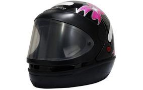Capacete Moto San Marino Taurus Feminino Pr Tam 58