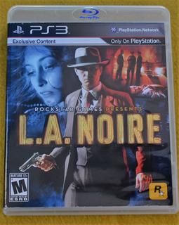 L.a. Noire Ps3 Play Magic