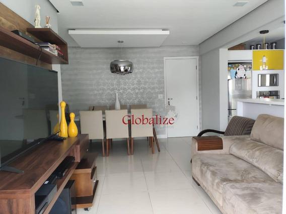 Apartamento Com 2 Dormitórios À Venda, 72 M² Por R$ 590.000,00 - José Menino - Santos/sp - Ap0234